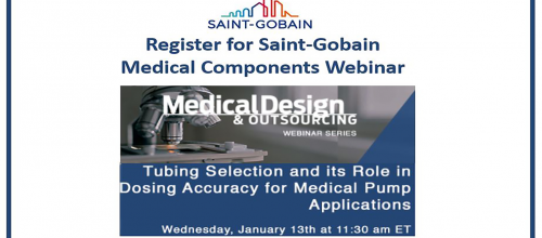 Saint-Gobain Medical Components Pump Tubing Webinar